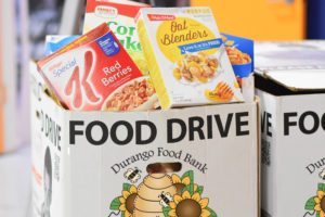 Organize a Food Drive for the Durango Food Bank